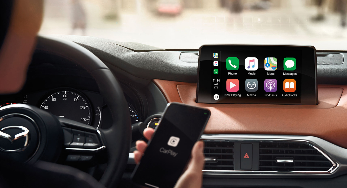 Få Apple CarPlay i din Mazda