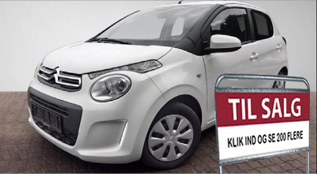 Klik her og få se vores brugte Citroën biler