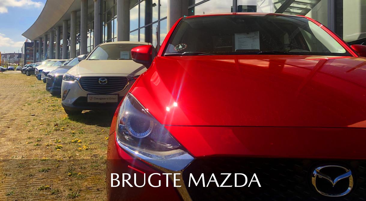 Se vores udvalg af nyere brugte Mazda biler her