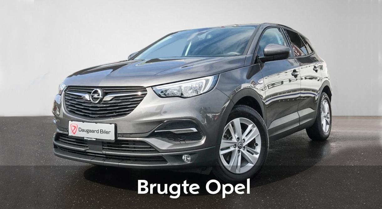 Find din nye brugte Opel blandt mere end 200 brugte biler