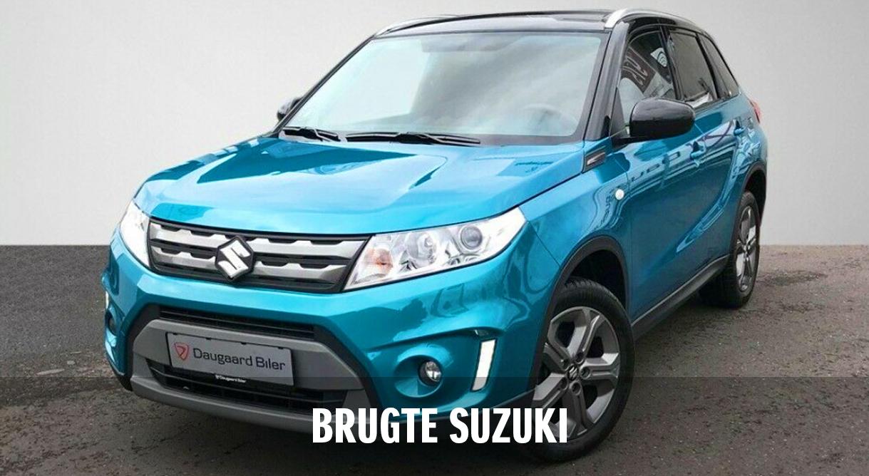 Fin din nye Suzuki blandt vore mere end 200 brugte biler,