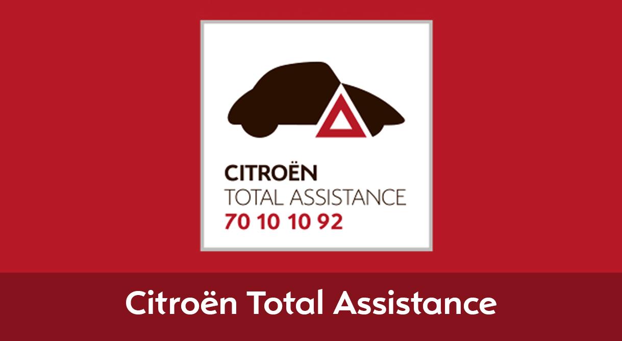 Citroën Total Assistance med hjælp 24/7 skaber tryghed på køreturen