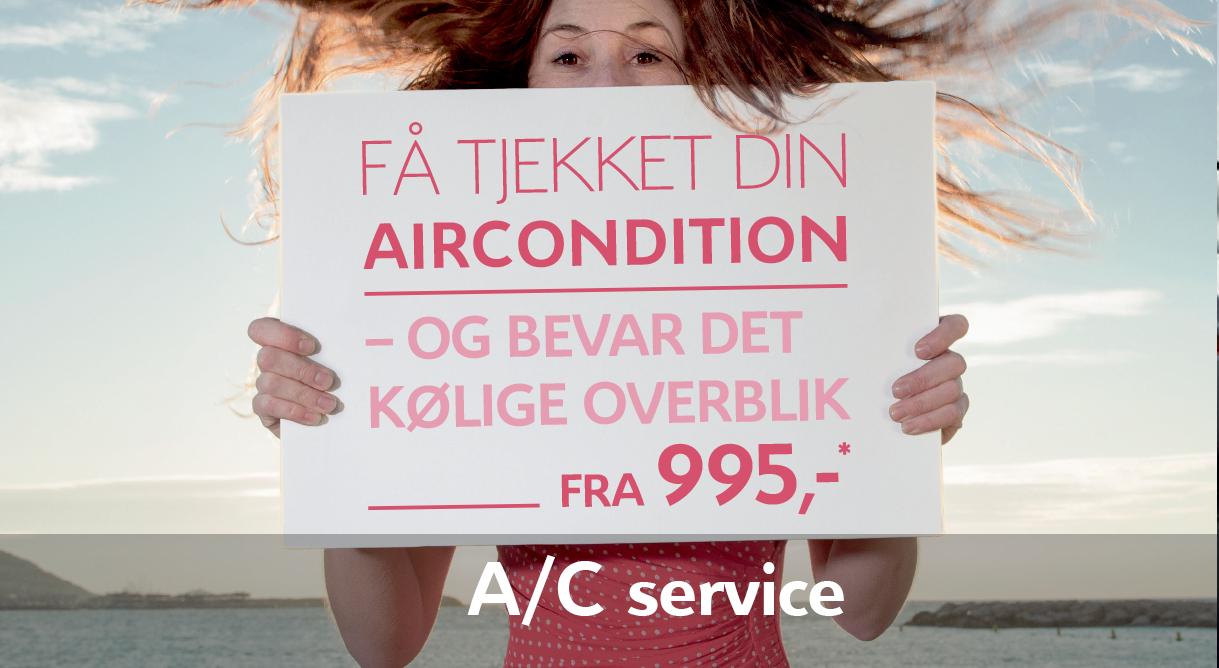 Få det kølige overblik tilbage med et airconditiontjek