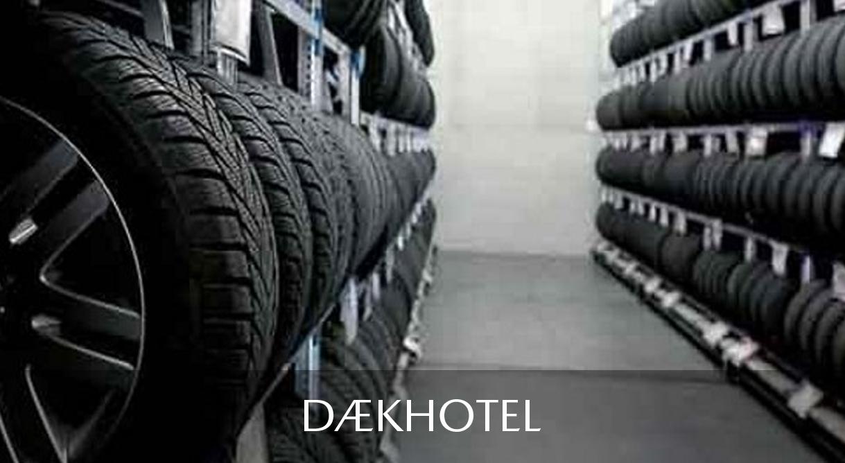 Daugaard Dækhotel passer på de hjul du ikke bruger