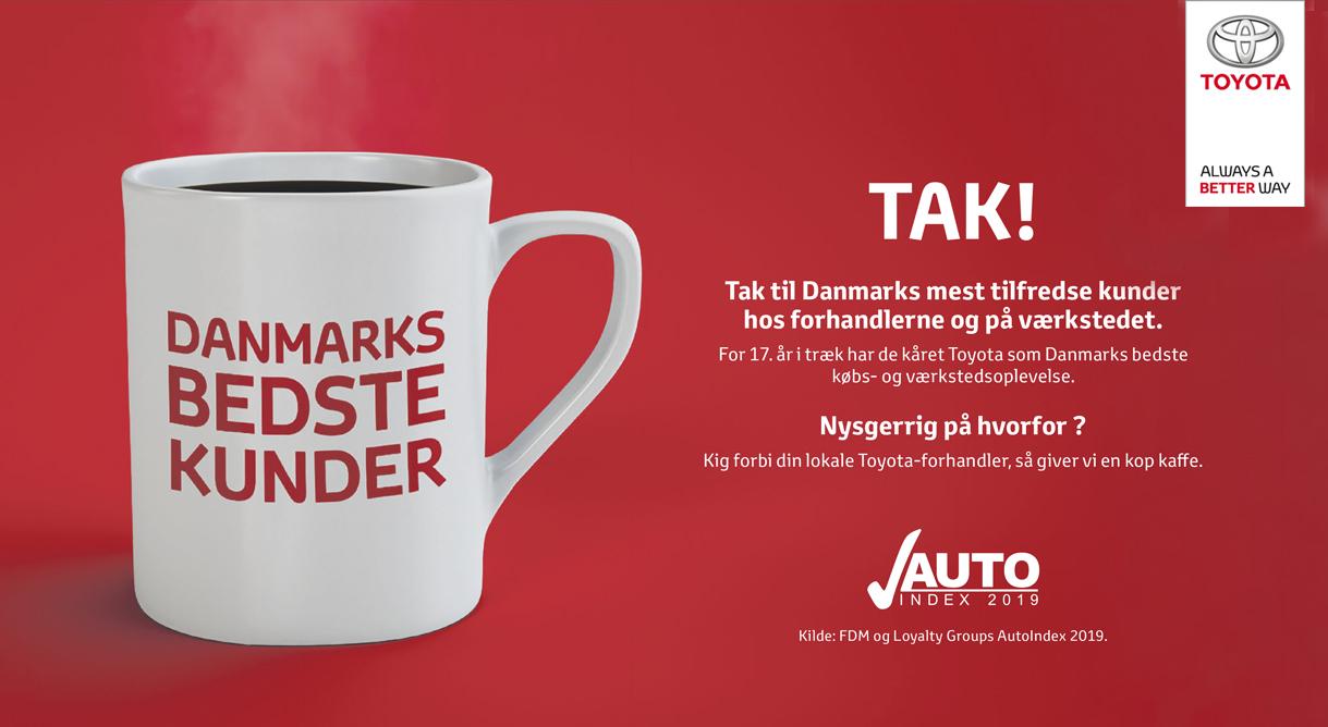 Tak til Danmarks bedste kunder