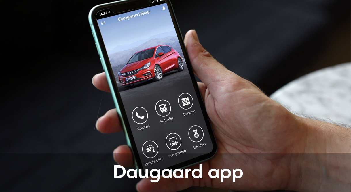 Daugaard App'en giver dig overblik og hurtig hjælp
