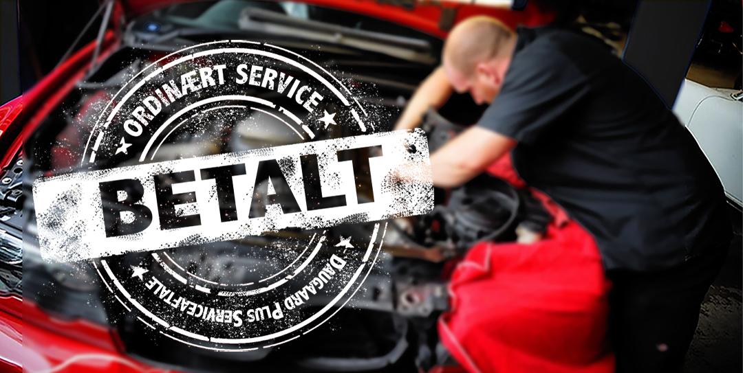 SPAR 1000'vis på bilbudgettet med en Daugaard Plus Serviceaftale.