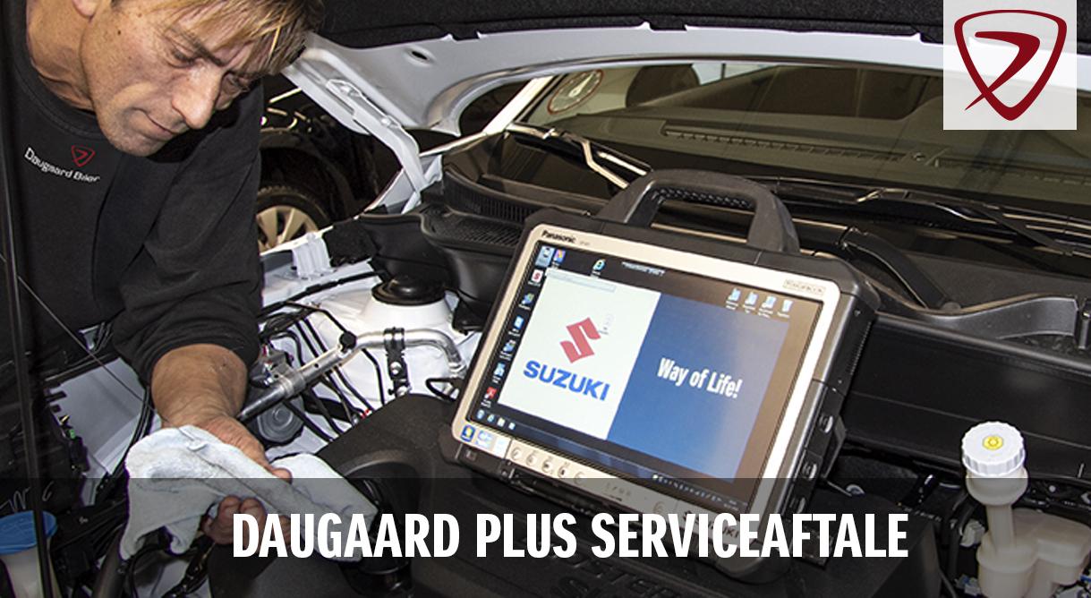 med en Daugaard Plus serviceaftale er serviceeftersynene betalt og du får 15% rabat på alle øvrige reparationer
