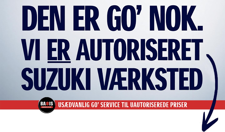 Autoriseret Suzuki værksted i København- Daugaard Biler A/S