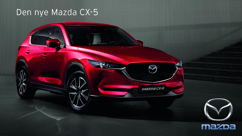 Daugaard Biler præsenterer den nye Mazda CX-5