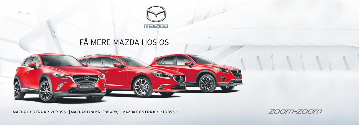 Få mere Mazda med mere hos Daugaard Biler