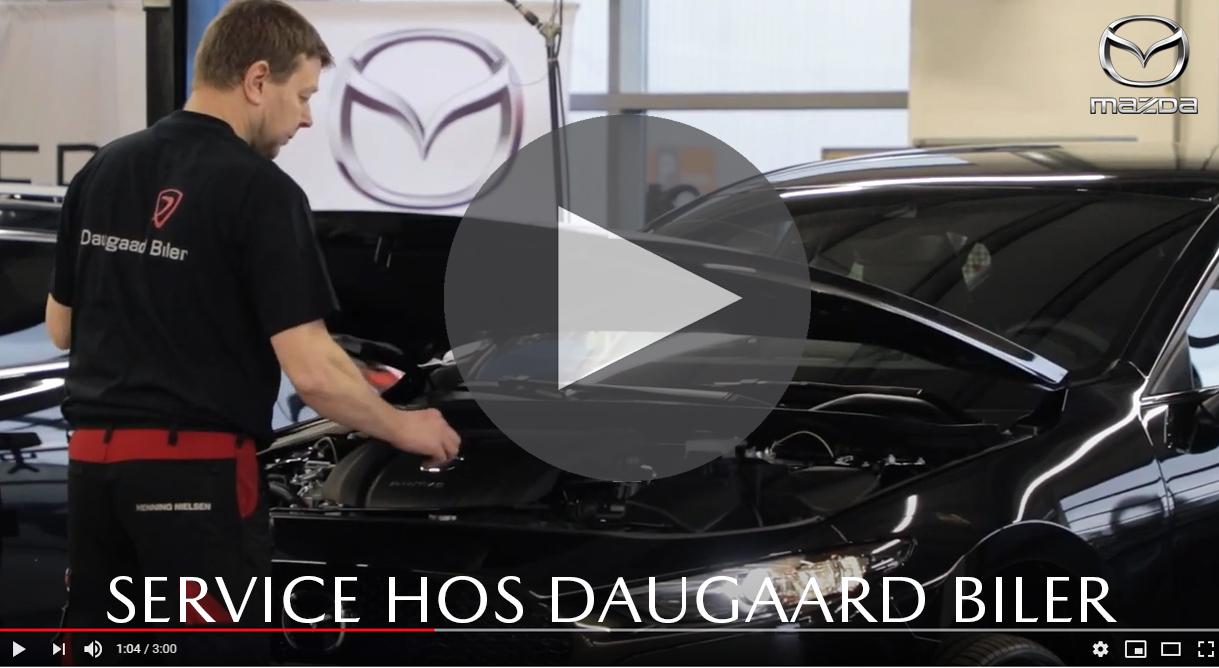 Et aut, Mazda service hos Daugaard Biler giver mange fordele for dig