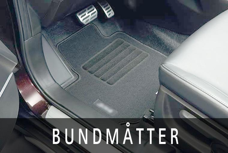 Et sæt bundmåtter skåner bilens gulv og frisker bilens kabine op
