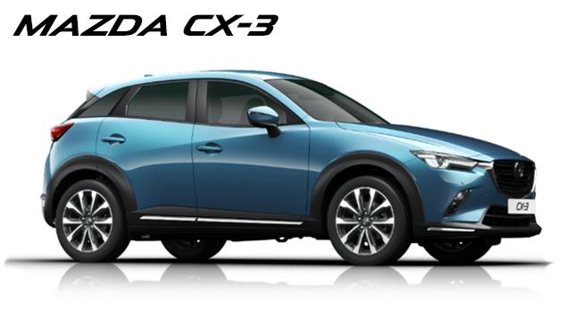 Prøv den nye Mazda CX-3 hos din Mazda forhandler i København, Gladsaxe og Glostrup, Daugaard Biler A/S