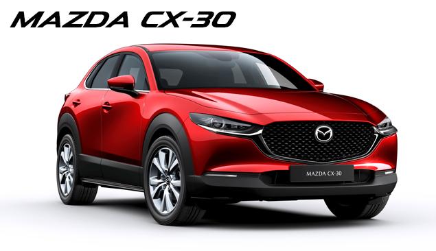 Den nye Mazda CX-30 står klar til at give dig en eksklusiv oplevelse i alle vores forretninger