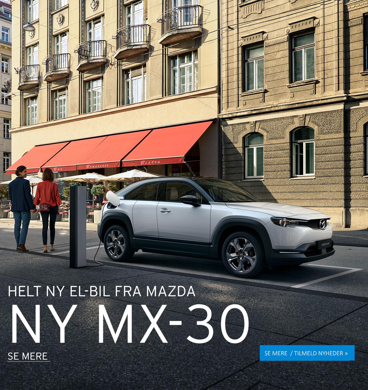 NY MAZDA MX-30 - PRØV DEN FØRST HOS DAUGAARD BILER