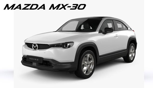 Den nye Mazda MX-30. Helt elektrisk