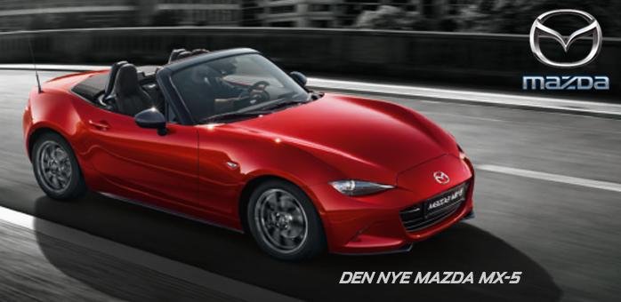 Ny eller brugt Mazda MX-5 - Find din hos Daugaard Biler