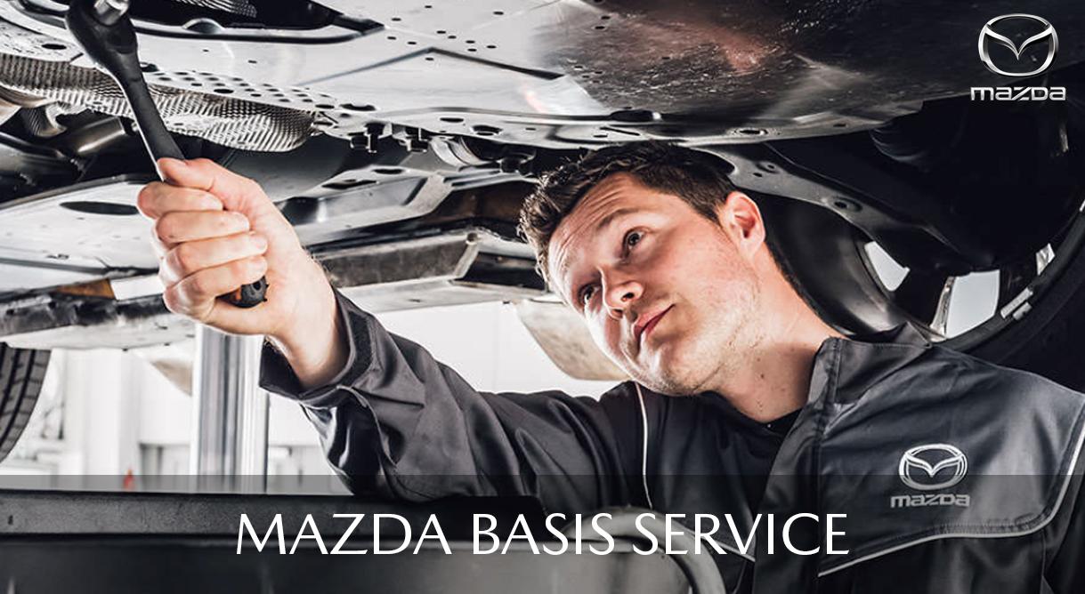 Få et autoriseret Mazda basisservice fra kun 1.395,- kr.