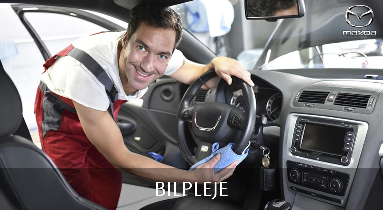 Lad vores proffer shine din bil op indvendig og udvendig