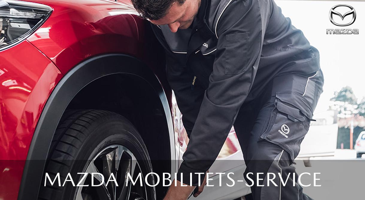 Få et års mobilitetservice med i købet efter hvert aut. Mazda service