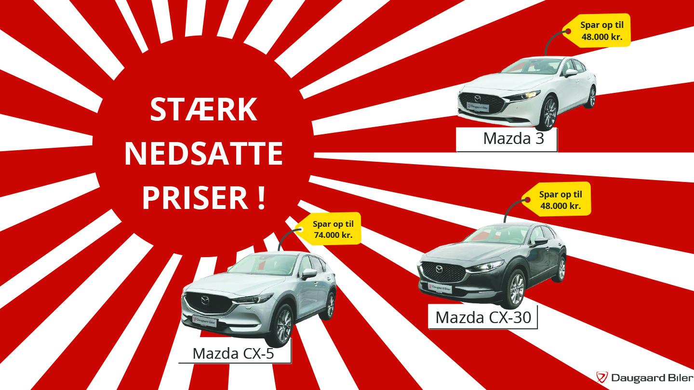 SPAR op til 74.000 kr. på en ny Mazda