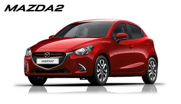 Prøv den nye Mazda2 hos din Mazda forhandler i København, Gladsaxe og Glostrup, Daugaard Biler A/S