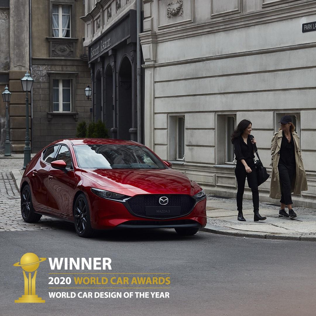 Kom ind og oplev vinderen af World Car Award 2020, Mazda3