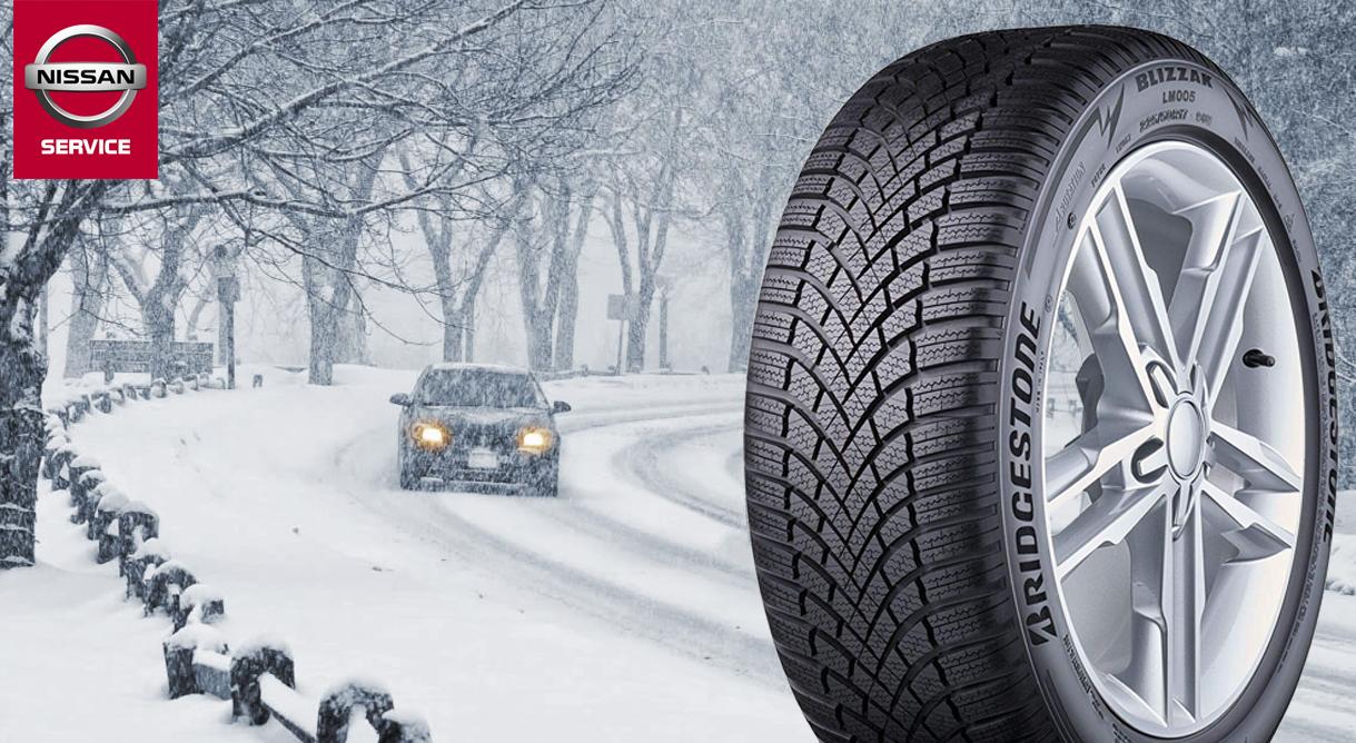 Få et godt tilbud på vinterdæk til din Nissan her