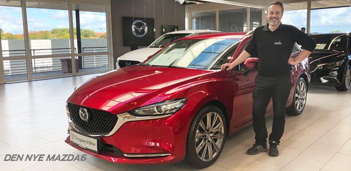 Den nye Mazda6 står nu klar til dig i alle vores afdelinger