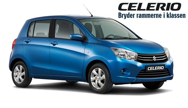 Suzuki Celerio ekstraudstyr til attraktive priser