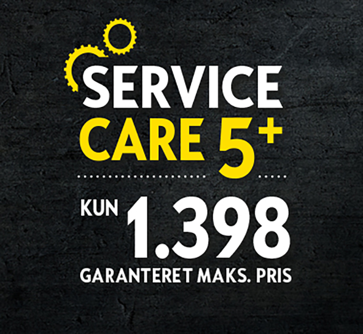 Opel Service Care 5+ for 1.398,- kr.
