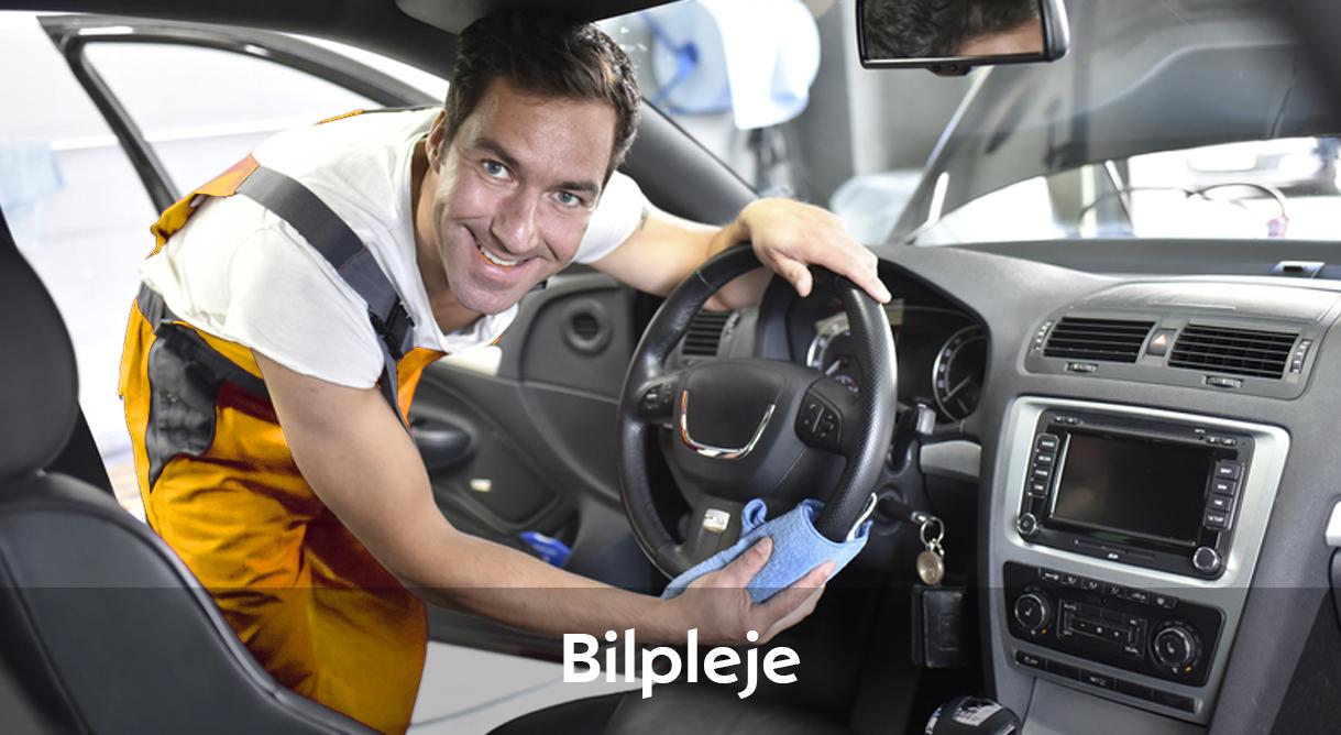 Lad vores klargøringsteam få din Opel til at shine igen