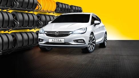 Book plads til din Opels ekstra hjul på vores dækhotel