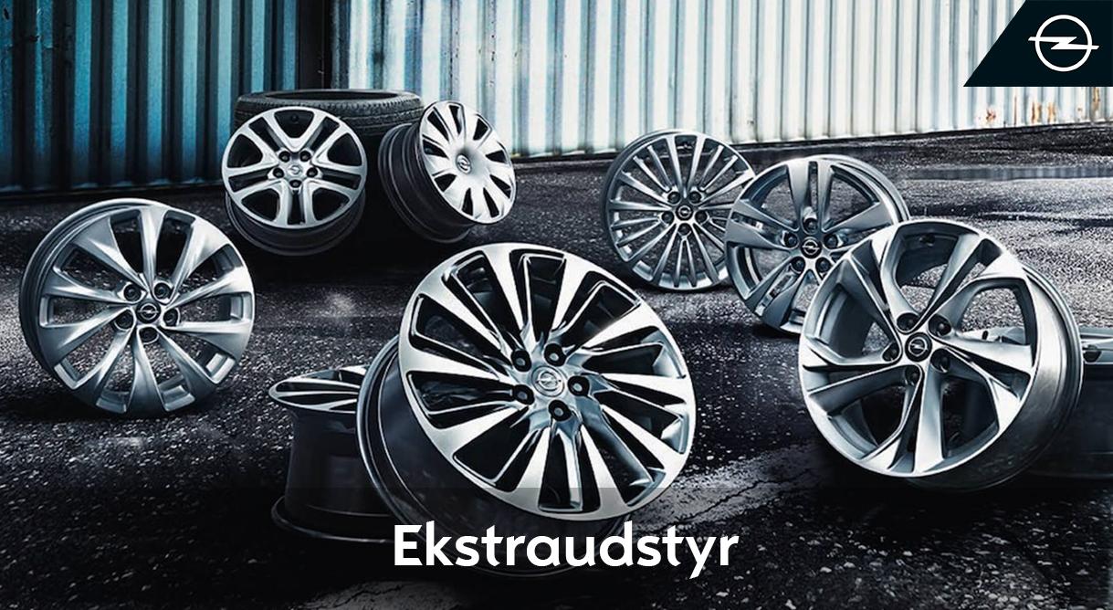 Lad dig inspirere til ekstra køreglæde i Opels store tilbehørskatalog
