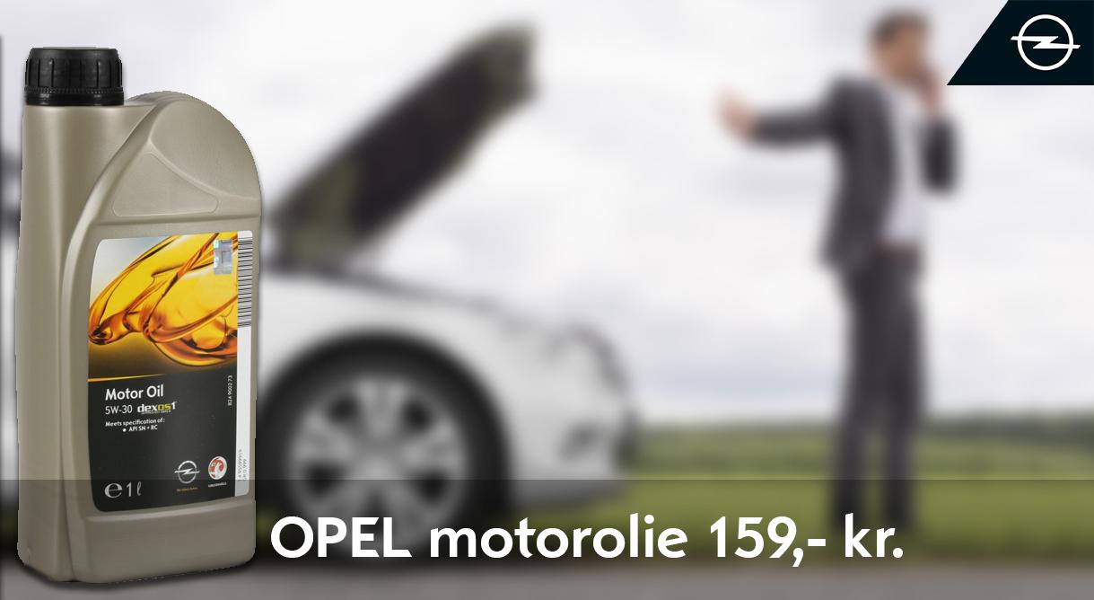 Husk ekstra motorolie der passer til din Opel