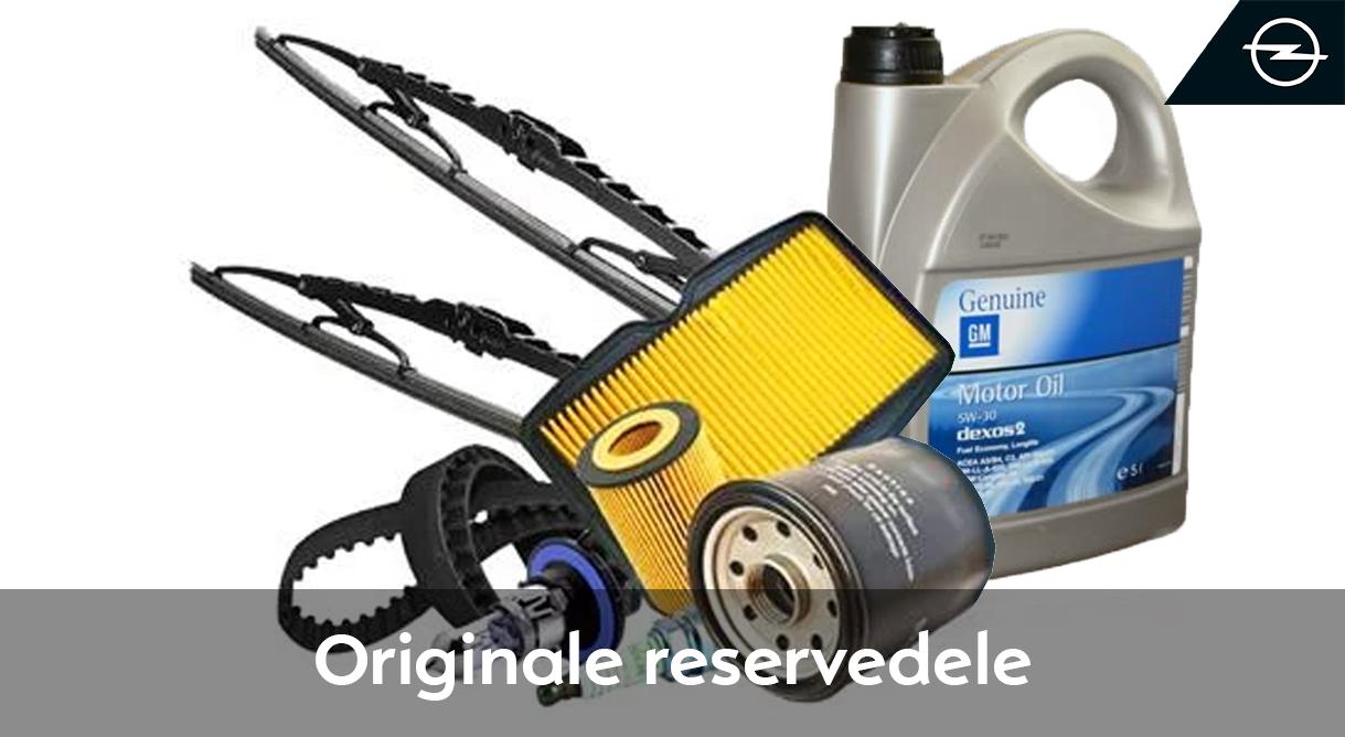 Originale reservedele sikrer kvaliteten i din Opel