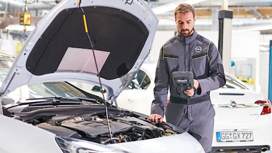 Vi har ekspertise, uddannelse og udstyr til at give din Opel er autoriseret eftersyn