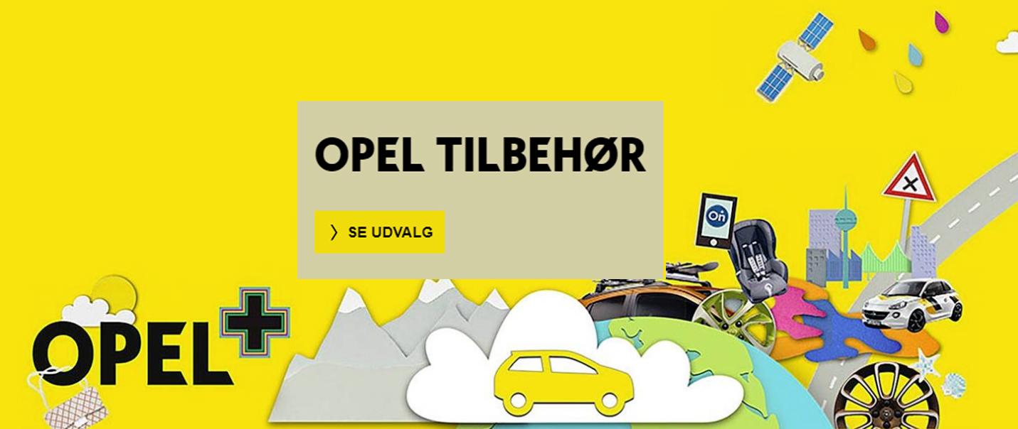 Boost køreglæden i din Opel med originalt tilbehør - se udvalget her