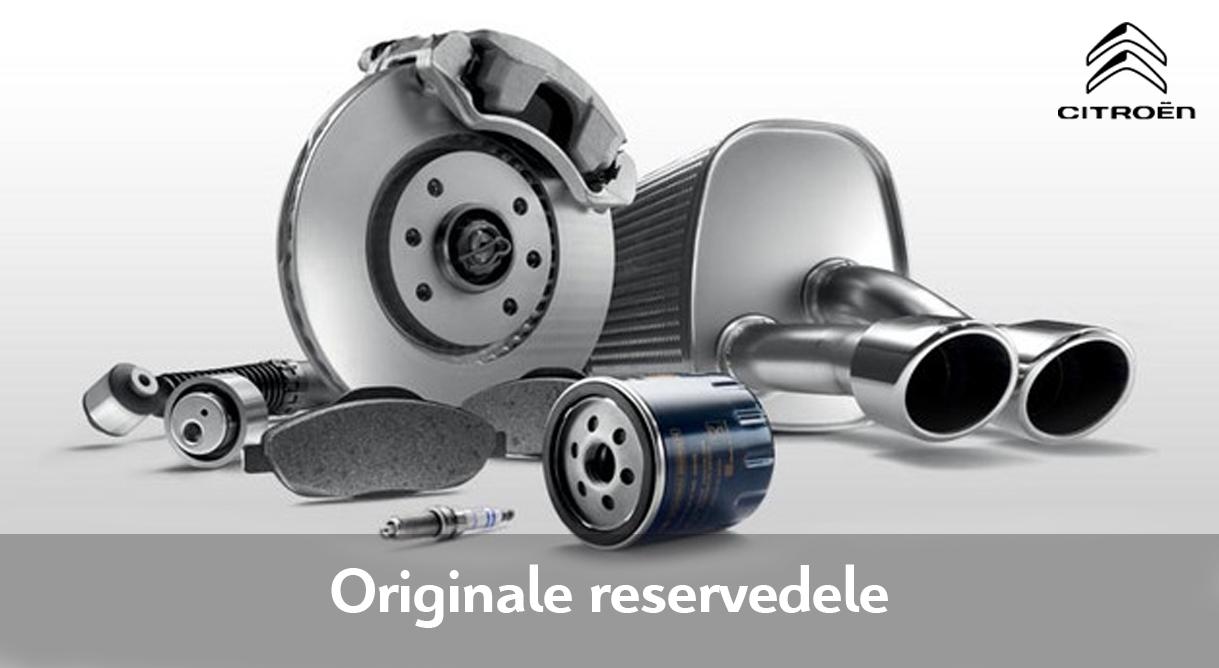 Originale reservedele sikrer kvaliteten i din Citroën