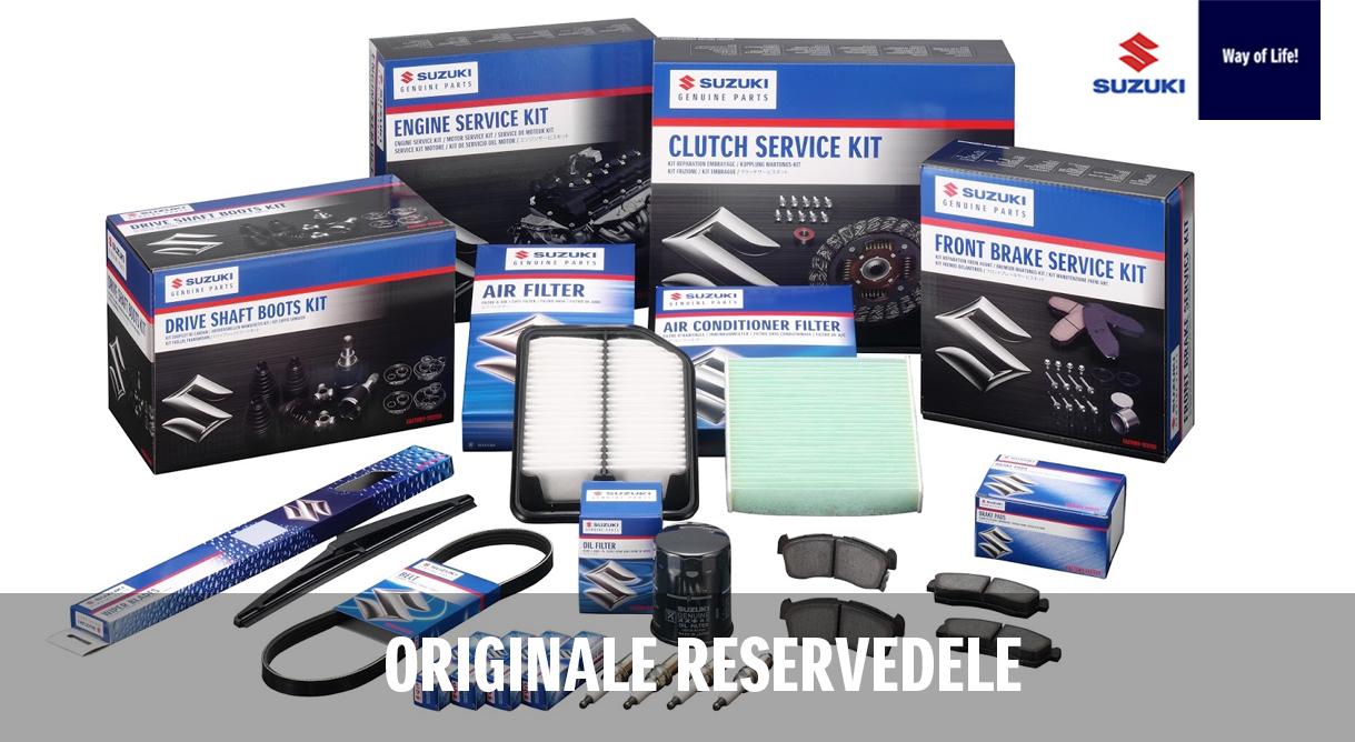 Originale Suzuki reservedele er ikke dyrere end andre og med til bevare din Suzukis høje kvalitet