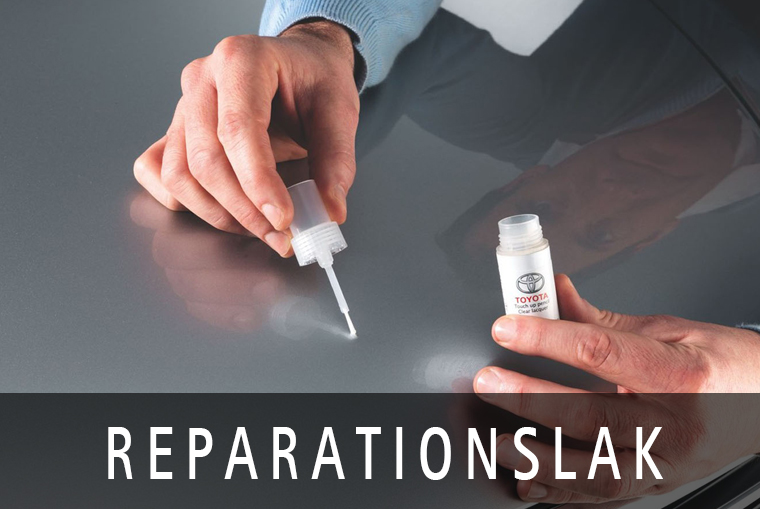 Original reparationslak fixer ridser og stopper rusten