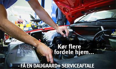 Kør flere fordele hjem med en Daugaard+ serviceaftale