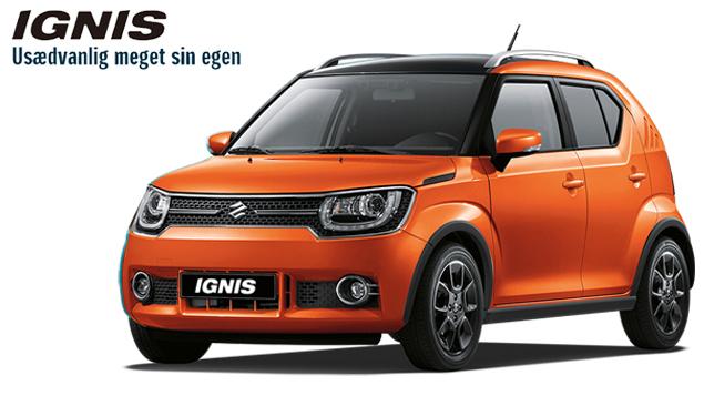 Prøv en Suzuki Ignis - den er helt sin egen