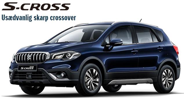 Få en usædvanlig skarp crossover med Suzuki S-cross