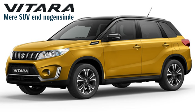 Prøv den nye Suzuki Vitara hos din Suzuki forhandler i København, Daugaard Biler A/S