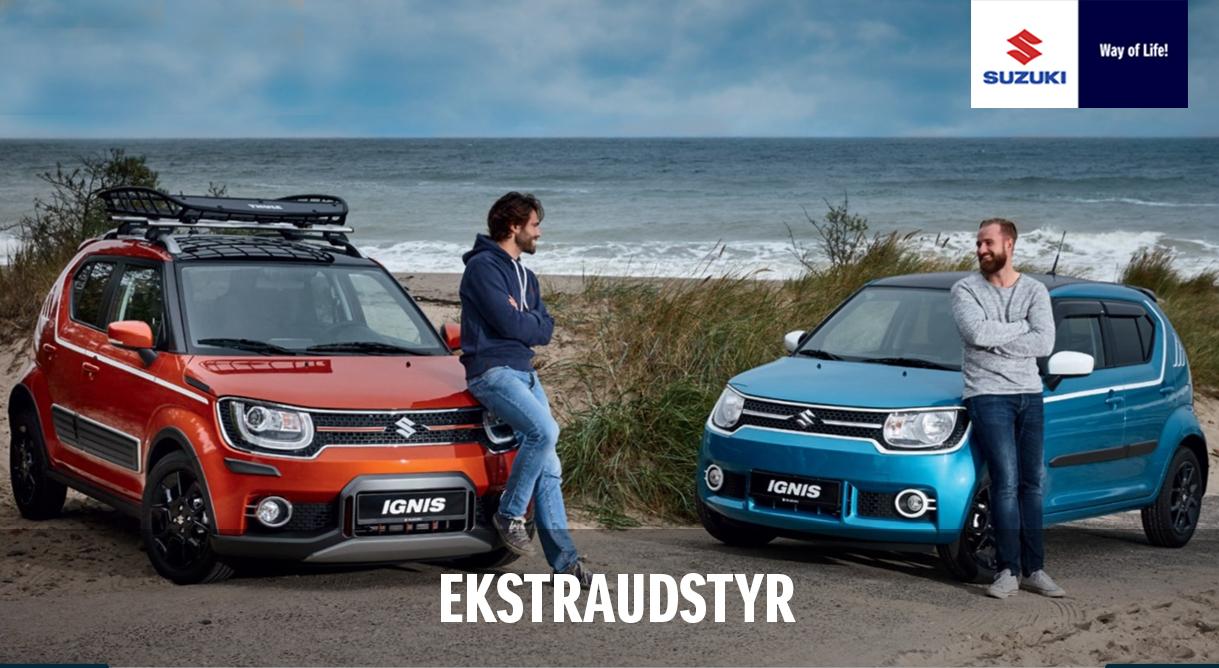 Lad dig inspirere til ekstra køreglæde i Suzukis store tilbehørsprogram
