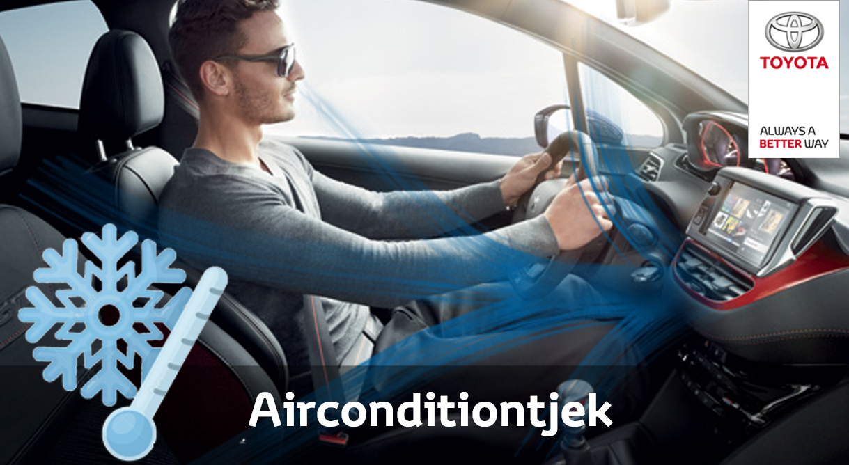 Få det kølige overblik tilbage med at Toyota airconditiontjek