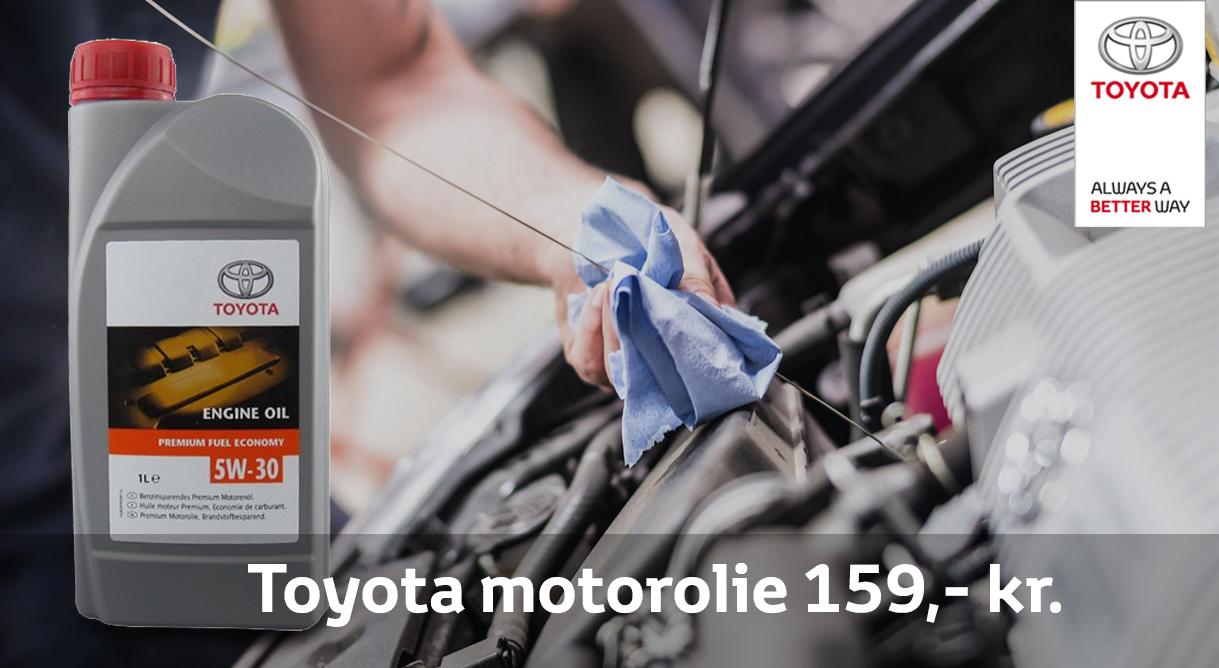 Husk ekstra motorolie der passer til din Toyota