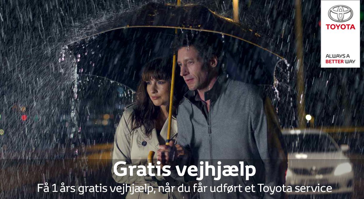 Få et års Toyota vejhjælp sammen med et sundheds- eller sikkerhedstjek